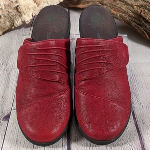 Clarks Cloudsteppers Sillian Rhodes Mules Clogs